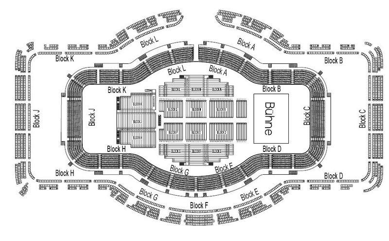 Sitzplan Festhalle Frankfurt