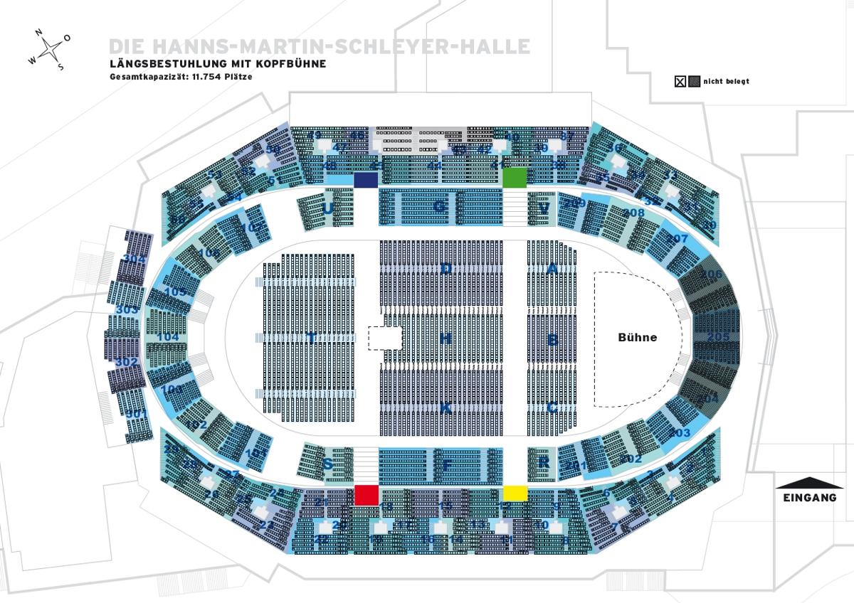 Hanns Martin Schleyer Halle Tickets Funke Ticket Hamburg